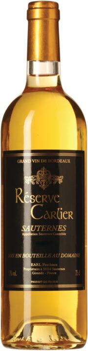 Réserve Carlier Sauternes