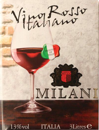 Italiano Milani Rosso 3l BIB