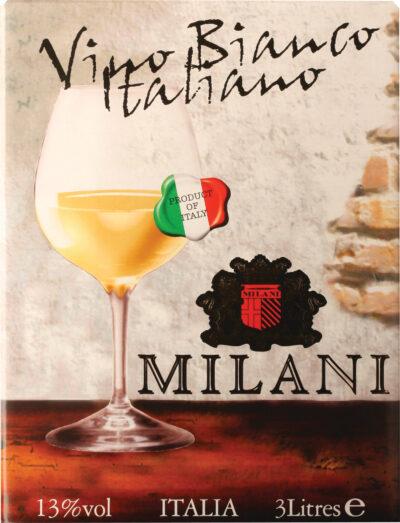 Italiano Milani Bianco 3l BIB