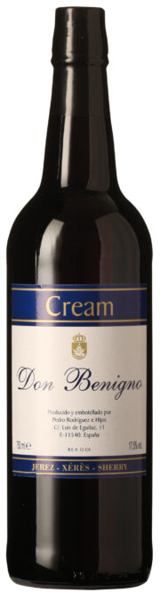 Don Benigno Cream Sherry