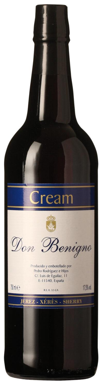 Don Benigno Cream Sherry