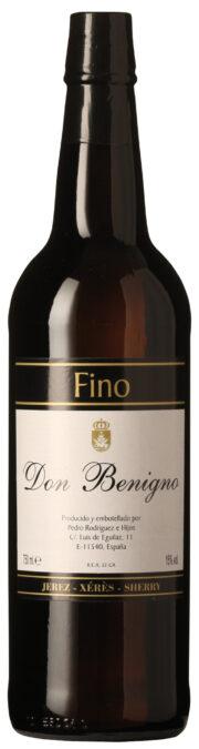 Don Benigno Fino Sherry